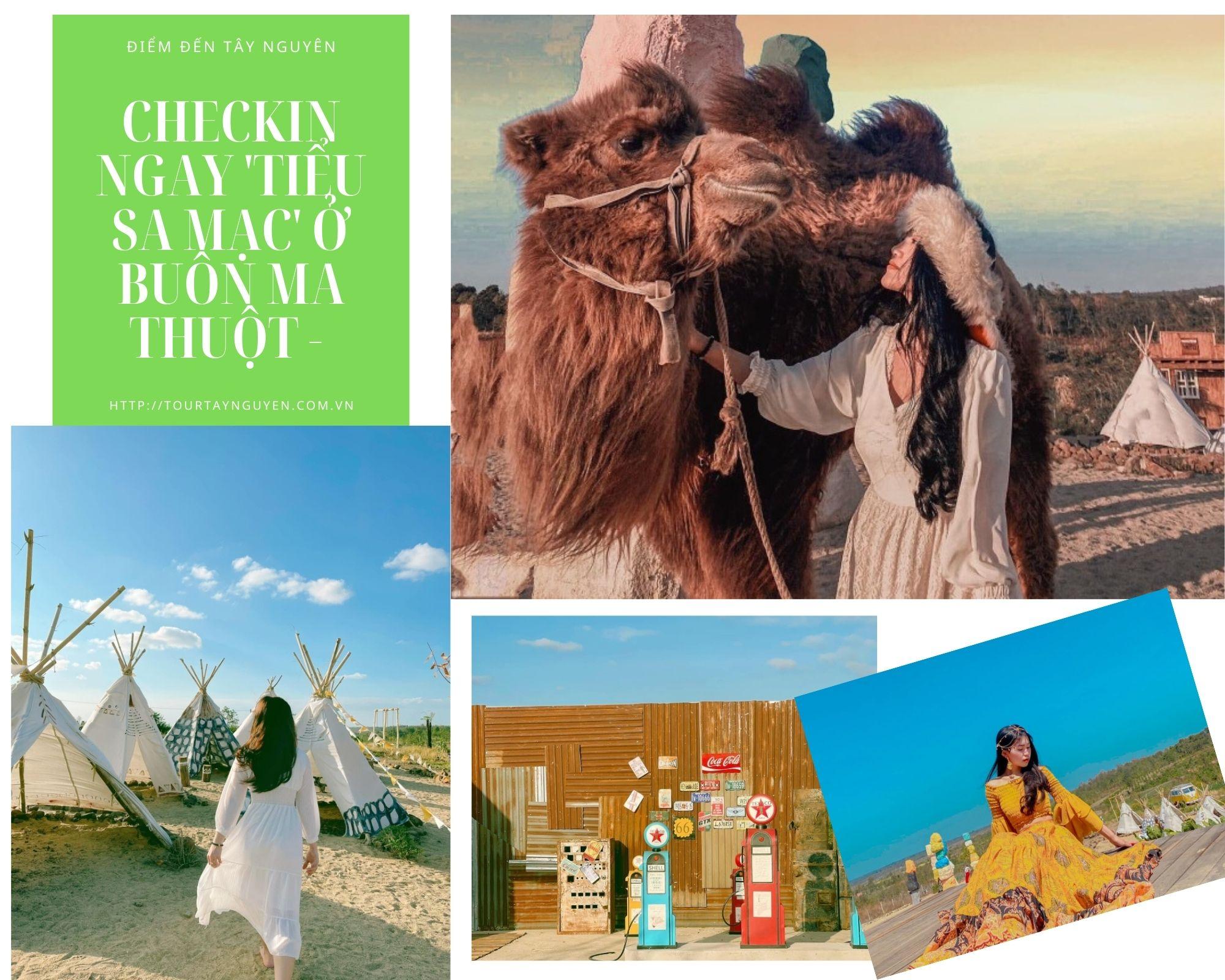 Checkin ngay 'Tiểu sa mạc' ở Buôn Ma Thuột - Điểm Đến Tây Nguyên